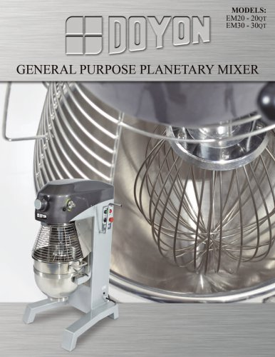 General Purpose Planetary Mixer