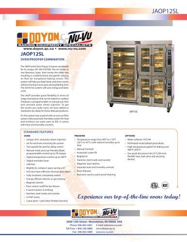 Oven / proofer
