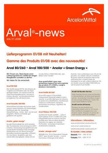 Arval®-news