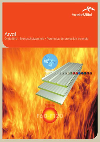 Ondafibre / Panneaux de protection incendie