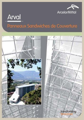 Panneaux Sandwiches de Couverture