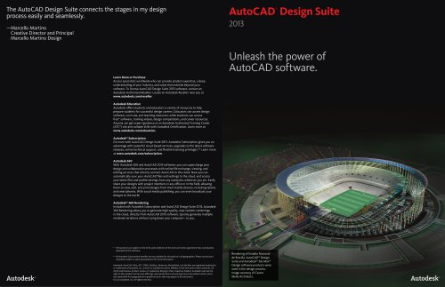 AutoCAD Design Suite Brochure