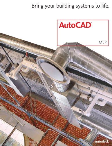 AutoCAD MEP 2013 brochure