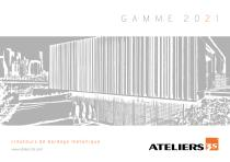 Gammes Ateliers3S 2021