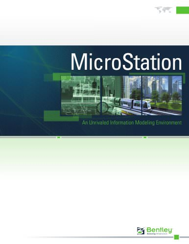 MicroStation Brochure