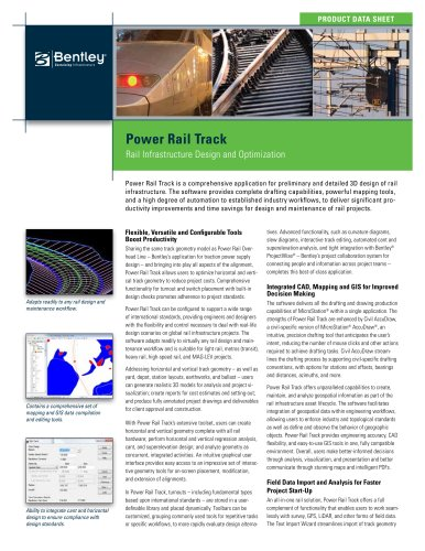 Power rail track