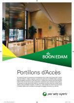 Portillons d'Accès Brochure de la Gamme de Produits