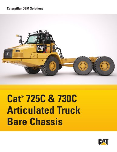 725C & 730C Articulated Truck Bare Chassis