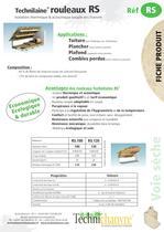 Technilaine® rouleaux  RS