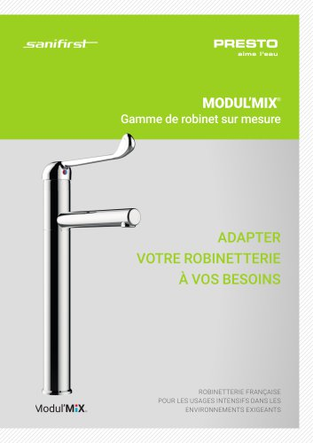 MODULMIX® - robinet modulaire