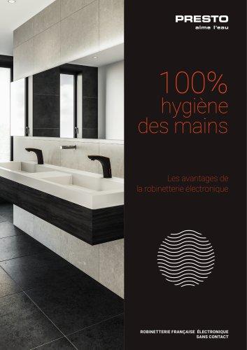 PRESTO® Robinets électroniques - 100% hygiène