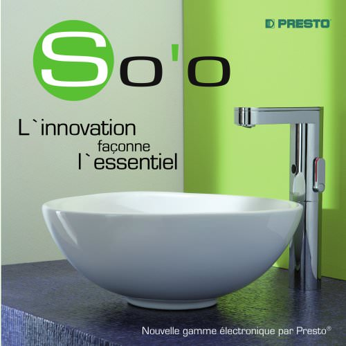 SO'O, le robinet électronique by PRESTO