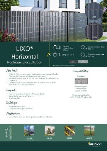 LIXO HORIZONTAL
