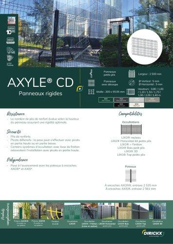 PANNEAU AXYLE CD