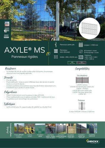 PANNEAU AXYLE MS