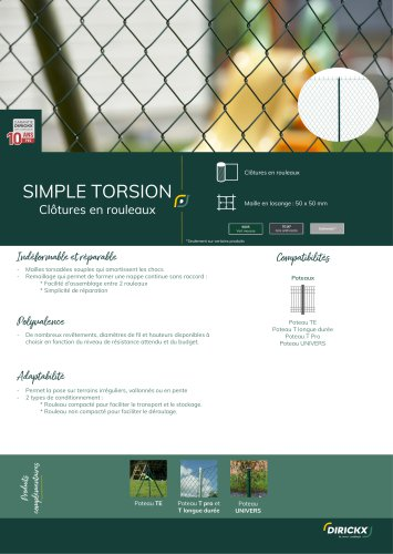 SIMPLE TORSION