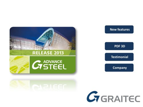 What's new in Advance Steel 2013 release