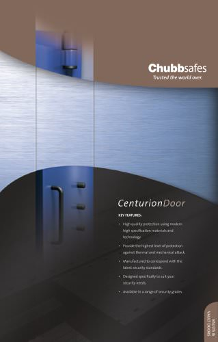 Centurion Door brochure