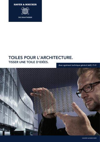 Toiles pour l'architecture HAVER & BOECKER. Tisser une toile d´idées.