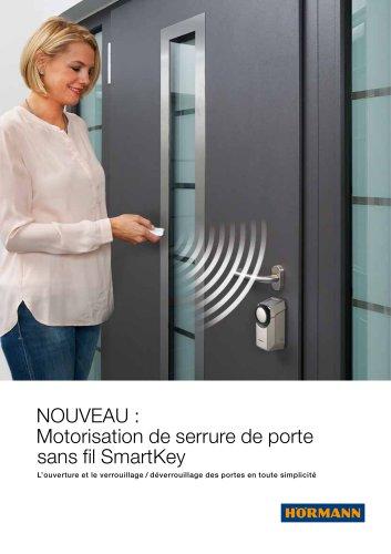 Motorisation de serrure de porte sans fil SmartKey