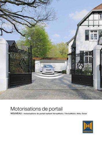 Motorisations de portails