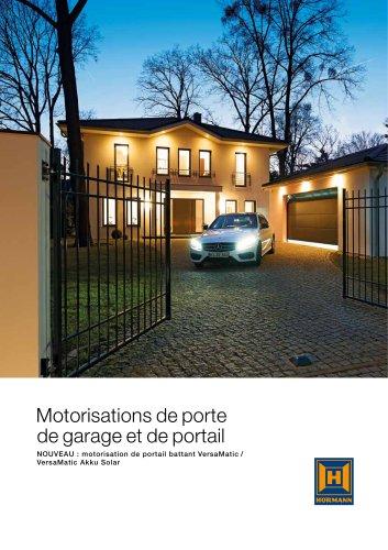 Motorisations de porte de garage et de portail d?entrée