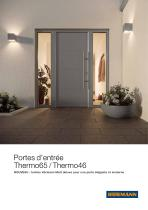 Portes d'entrée Thermo65 / Thermo46