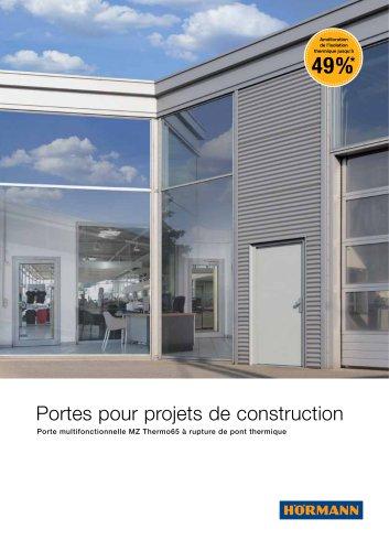 Portes pour projets de construction