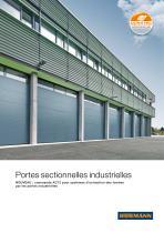 Portes sectionnelles industrielles