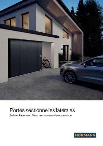 Portes sectionnelles latérales