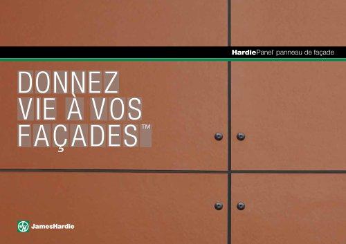 HardiePanel® panneau de façade