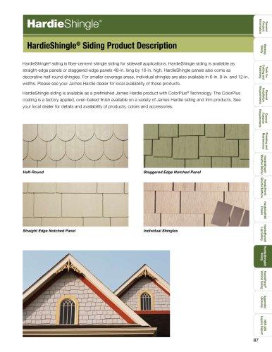 HZ10™-HardieShingle pg. 88-98