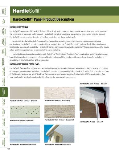 HZ10™-HardieSoffit pg. 65-76