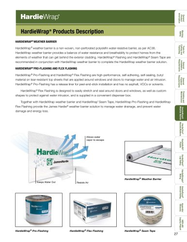 HZ10™-HardieWrap pg. 27-39