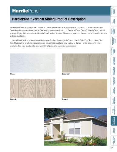Products Installation Guide_HardiePanel pg. 101-107