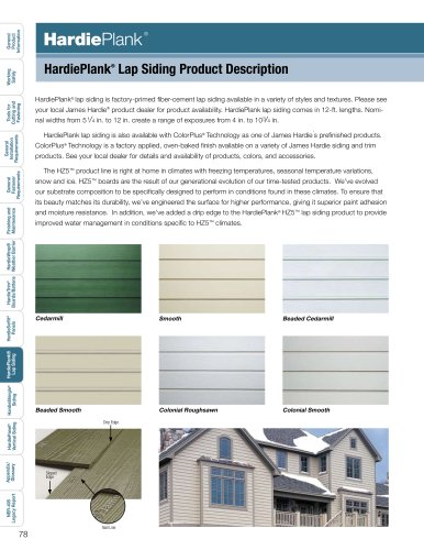 Products Installation Guide_HardiePlank pg. 78-89