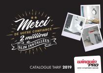 CATALOGUE TARIF 2019
