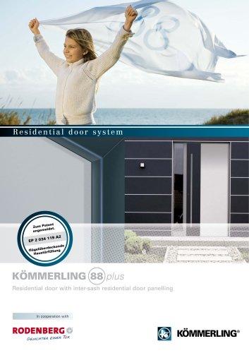 88plus Residential door with inter-sash residential door panelling