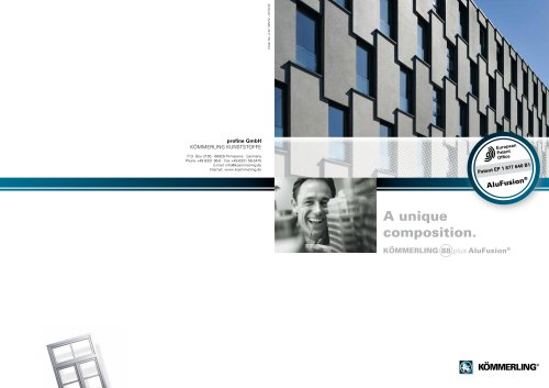 AluFusion main brochure