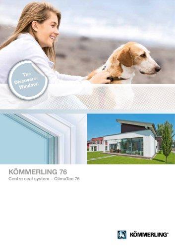 KÖMMERLING 76 centre seal Climatec 76
