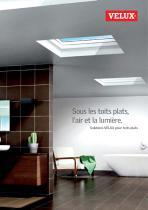 Solutions pour toits plats