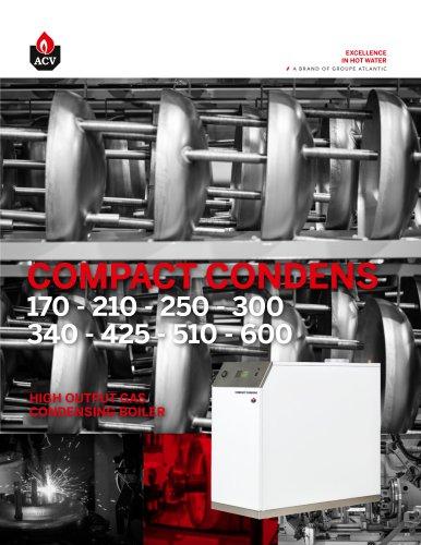HIGH OUTPUT GAS CONDENSING BOILER