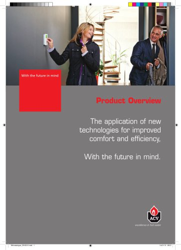 Product Overview 2013