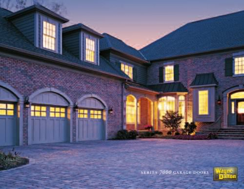 Brochure for Wood Garage Doors (Series 7000)