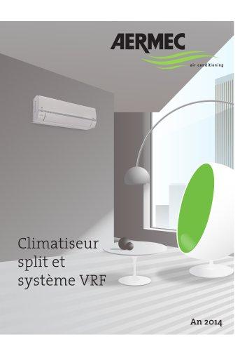 Climatiseur Split et systemes VRF 2014