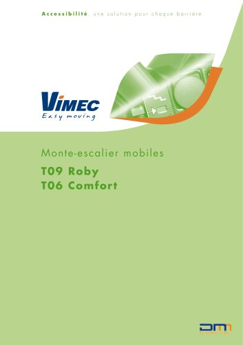 Monte-escalier mobiles T09 Roby/T06 Comfort