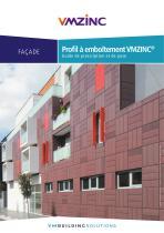 Guide de pose Profil à emboîtement VMZINC