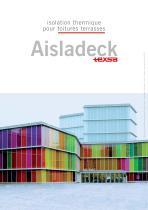 Isolation thermique pour toitures terrasses: Aisladeck