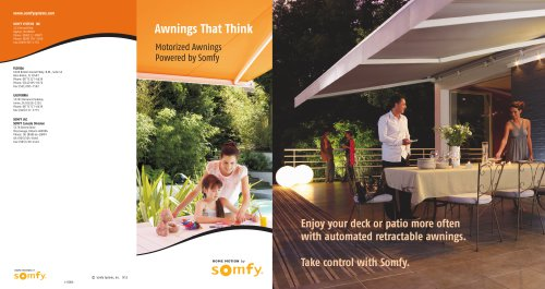 Awnings  That Think