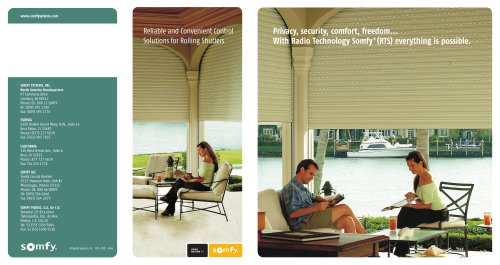 Reliable and  Convenient Control  of Rolling Shutters